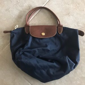 Small authentic longchamp bag